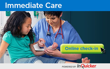 Immediate Care check-in