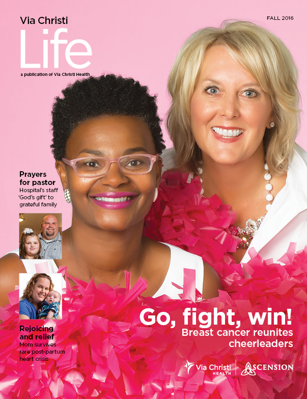 Via Christi Life magazine cover