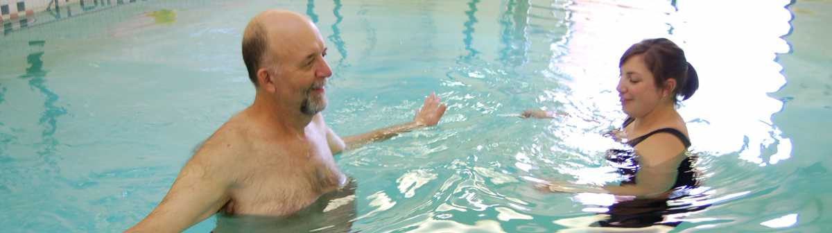 water therapy at Via Christi Rehabilitation Hospital