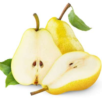 Poached honey pears with vanilla