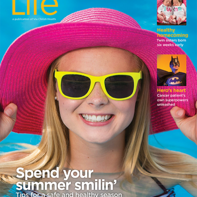 Cover of Via Christi Life Summer 2015 issue