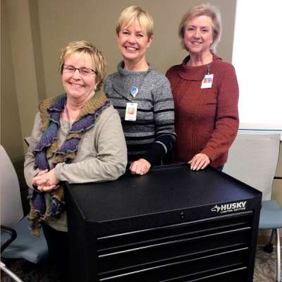 cancer patient Comfort Cart