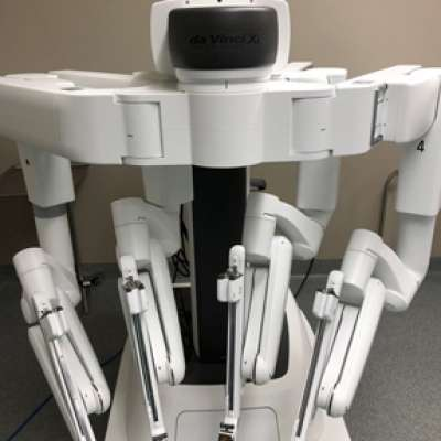 Manhattan's new da vinci surgical robot