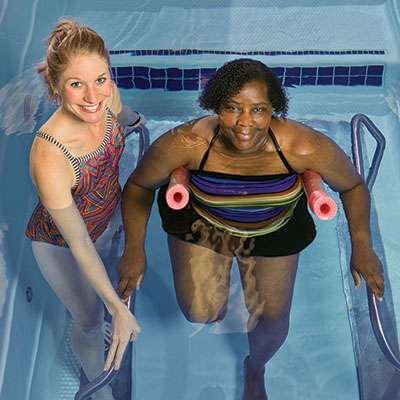aquatic therapy in manhattan, ks