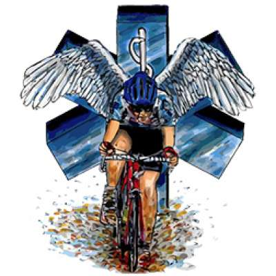 memorial bike ride logo