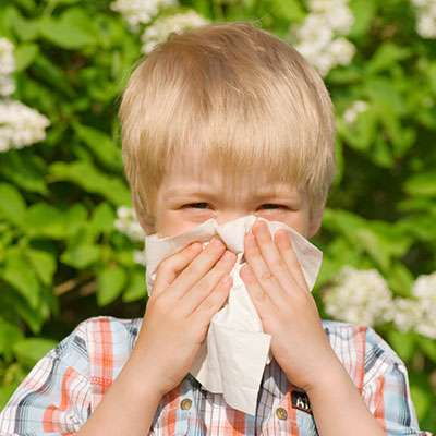 Seasonal allergies in children
