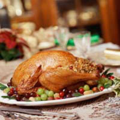 Herb Turkey or Chicken with Couscous and Vegetables